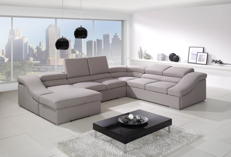 Ecksofa u form mit schlaffunktion  Sofa U Form Gnstig ~ CARPROLA for .